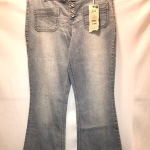 L.e.i. Size 15 regular Light Denim Jeans Pants